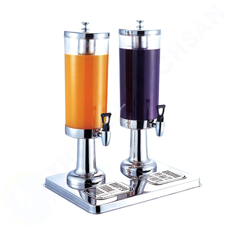 Bình đựng nước hoa quả buffet 6 lít 2 ngăn inox 18/10 121315 hình2