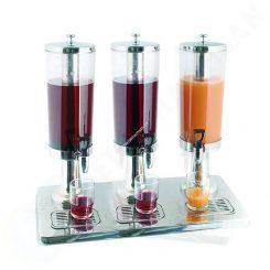 Bình đựng nước hoa quả buffet 9 lít 3 ngăn inox 18/10 121316 hinh1