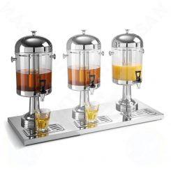 Bình đựng nước trái cây inox 3 ngăn 24 lít BC2213-3