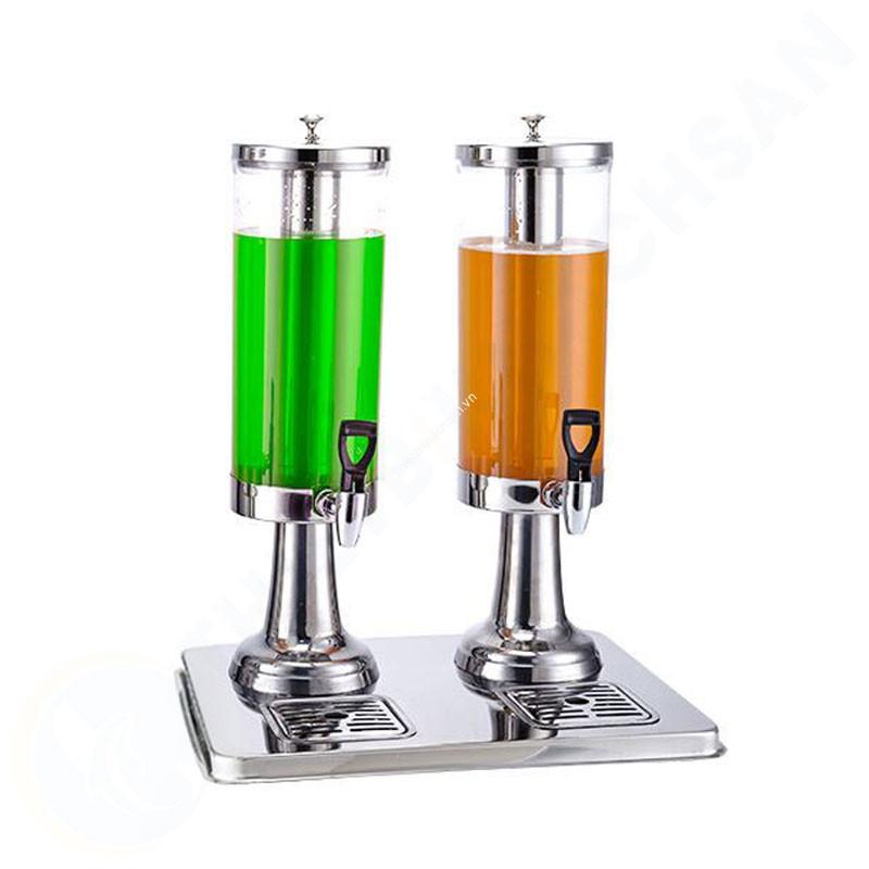 Bình đựng nước hoa quả có vòi 6 lít 2 ngăn BC2222-2 hình1