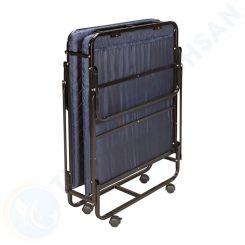 Giường extra bed nệm dày 06 cm sắt sơn EX7121-6 trạng thái gấp gọn
