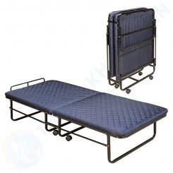 Giường extra bed nệm dày sắt sơn EX7121-6