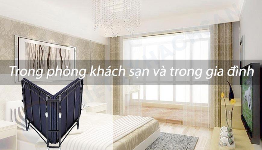 Giường extra bed EX7121-6 được sử dụng trong khách sạn