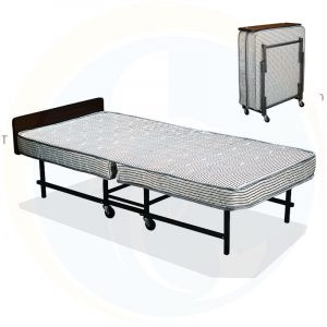Giường extra bed nệm xám dày 09 cm sắt sơn EX7123-9
