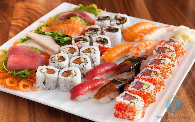 Ảnh buffet sushi