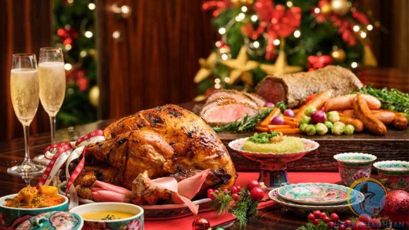 Tiệc buffet lễ giáng sinh
