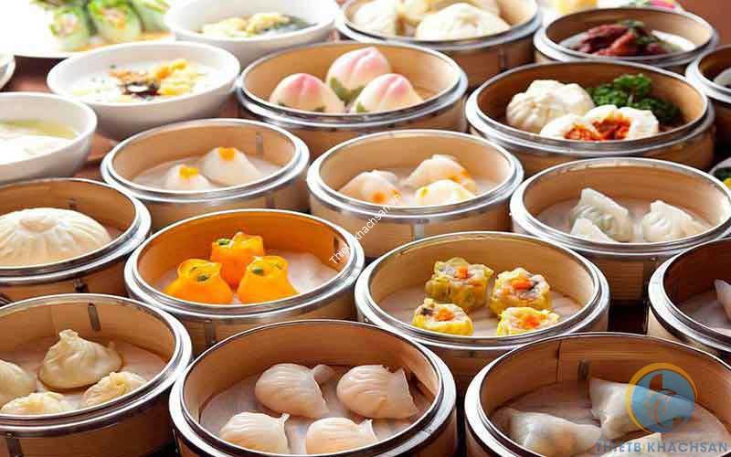 Ảnh buffet dimsum món Hoa
