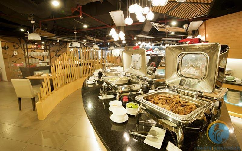 Hình ảnh nhà hàng buffet Hoàng Yến