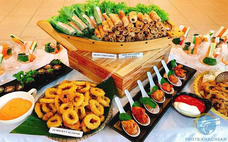 Dịch vụ đặt tiệc buffet tại nhà