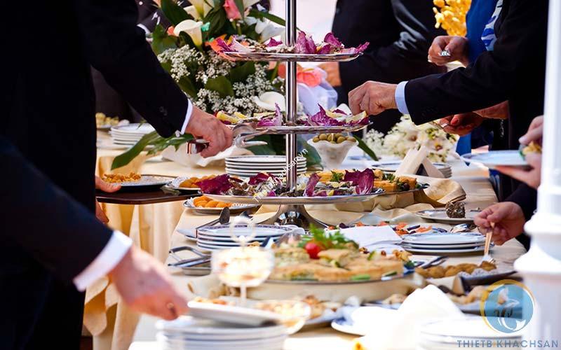 Hình ảnh tiệc buffet công ty