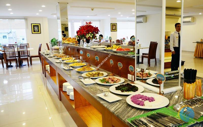 Hình ảnh menu buffet sáng tại khách sạn