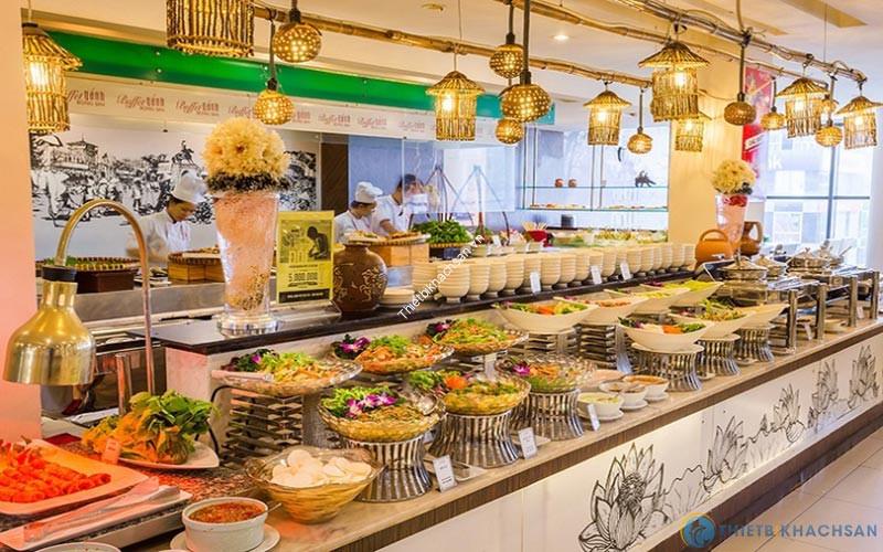 Cách setup quầy tiệc buffet trong khách sạn