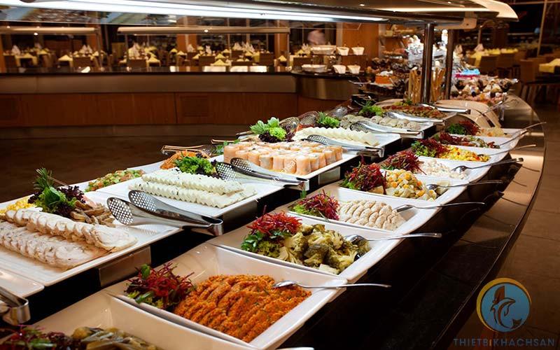 Hình ảnh thực đơn tiệc buffet ngon