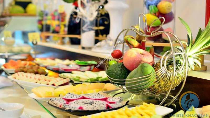 Hình ảnh tổ chức tiệc buffet tại nhà hàng