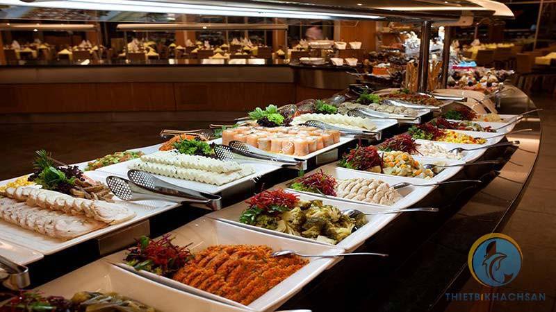 Ảnh tổ chức tiệc buffet nhà hàng khách sạn