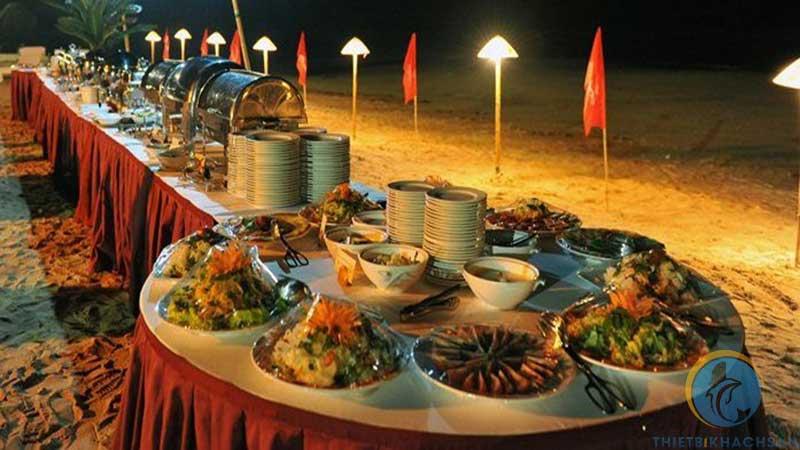 Ảnh tiệc buffet liên hoan cuối năm