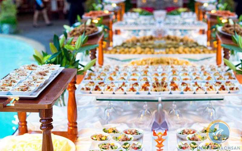 Ảnh tổ chức tiệc buffet công ty tại Hồ Chí Minh