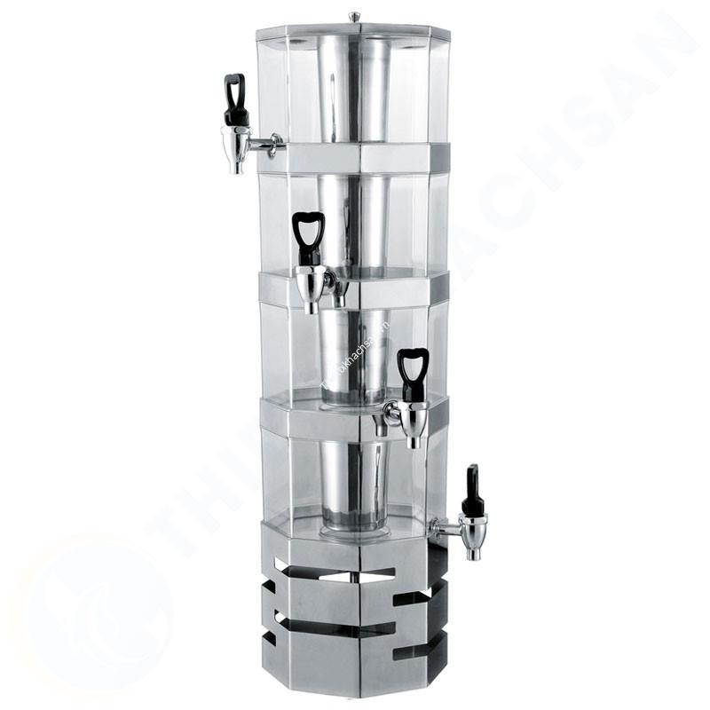 Tháp đựng nước trái cây bát giác 4 tầng 16 lít BC2226-4 hình2