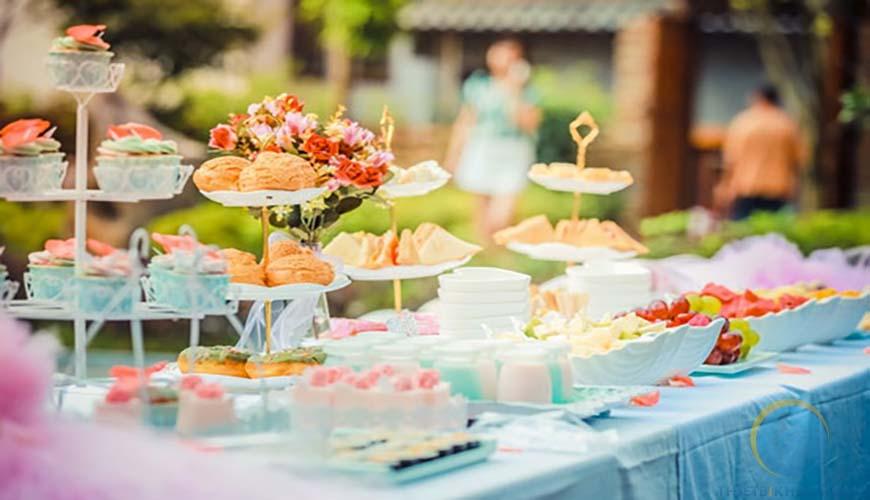 Bàn tiệc trà đám cưới