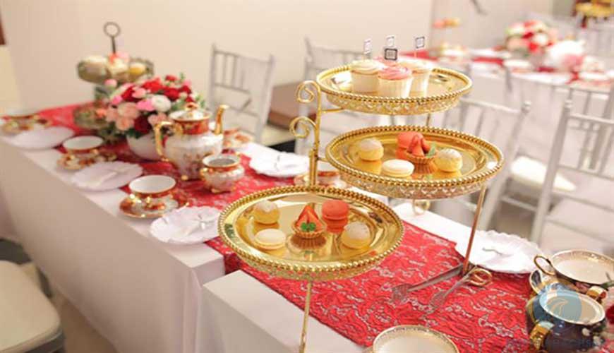 Tiệc trà lễ cưới