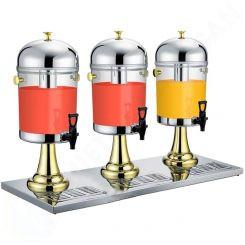 Bình nước trái cây giá rẻ chân vàng 3 ngăn 24 lít BC2202-3G